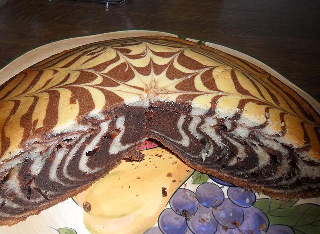 Пирог зебра пироги десерты и